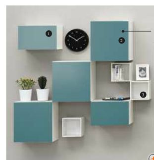 ikea besta - I think this is the storage I want, it comes in different sizes and color options for the doors.