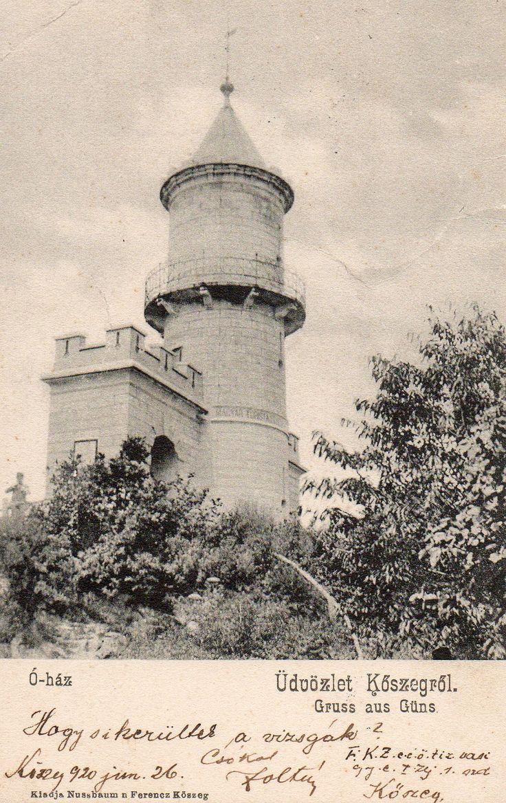 Old-house, Kőszeg, Hungary. 1920