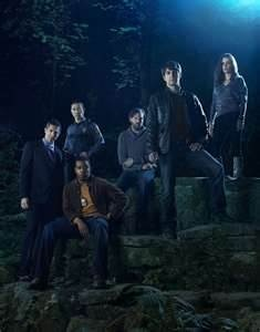 Grimm is a Television show about a hunter of Supernatural Creatures. Its somewhat like Supernatural, but more based on Faery Tale Lore.