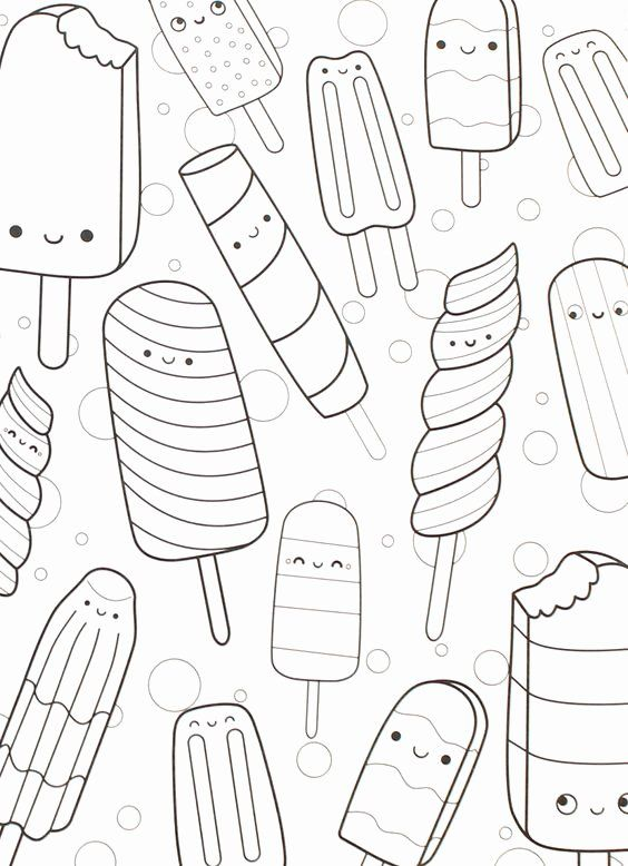 Cute Coloring Pages For Adults In 2020 Cute Coloring Pages, Food Coloring  Pages, Coloring Books
