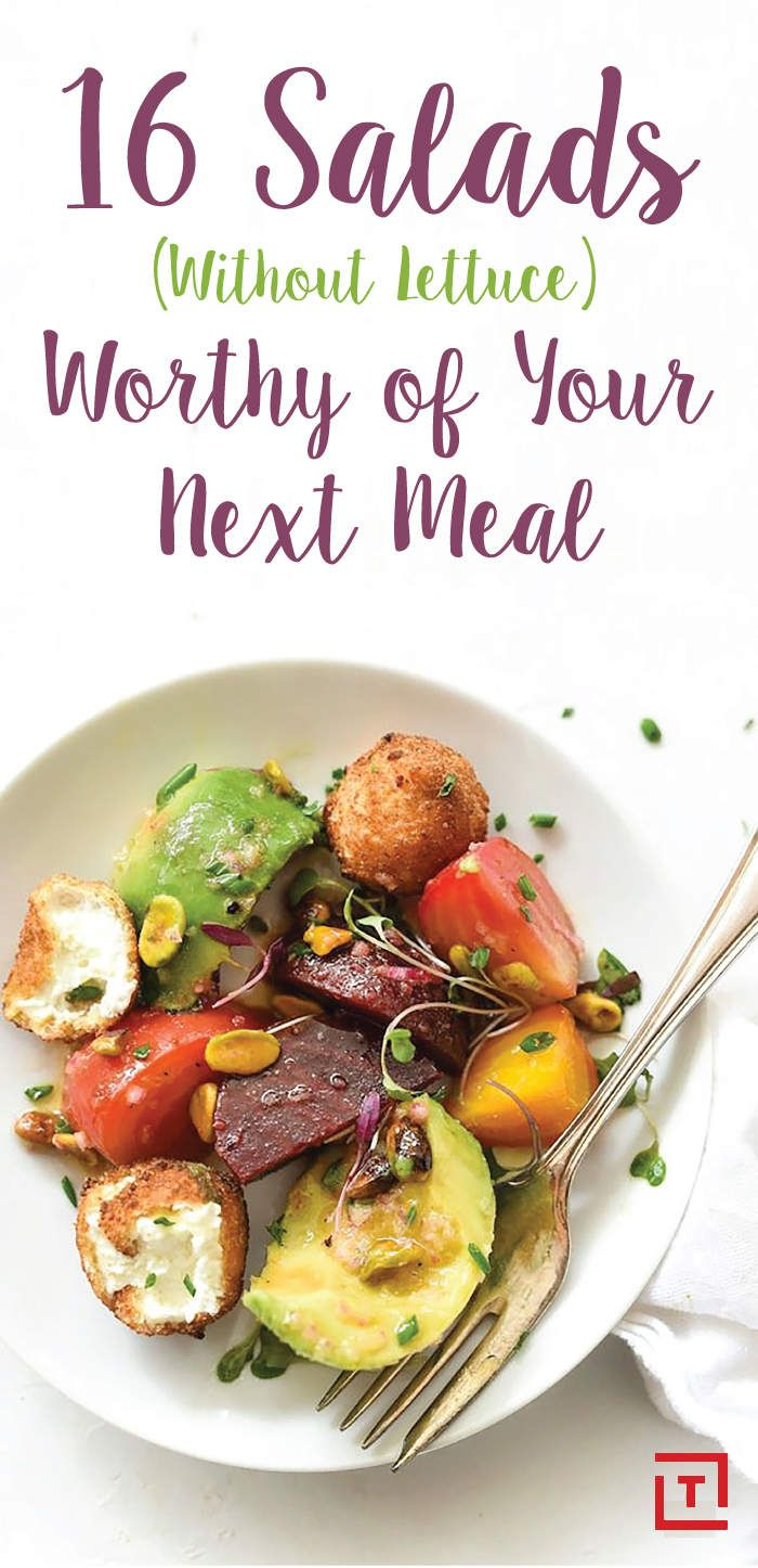 Salads Without Lettuce: Salad Recipes for Lunch & Dinner