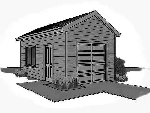 Storage Building With Garage Doors Barn Plans Garage