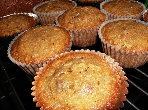 pecan pie muffins- trisha yearwood - reduce butter to 1 stick & add a little vanilla.   They are WONDERFUL