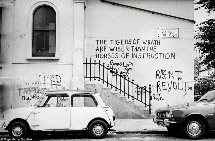 Notting Hill, London, 1970s.