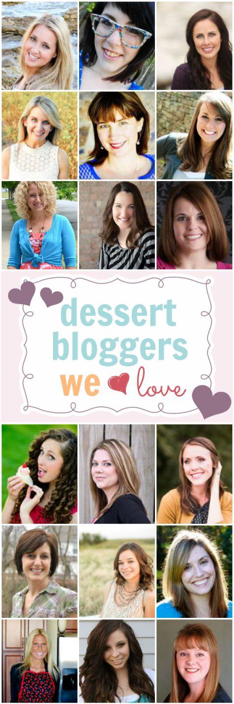 Dessert Bloggers We Love | www.somethingswanky.com