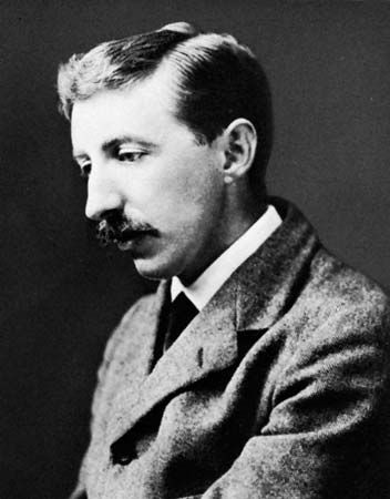 E. M. Forster | ... not there. You are quite right; life to me is just a spectacle