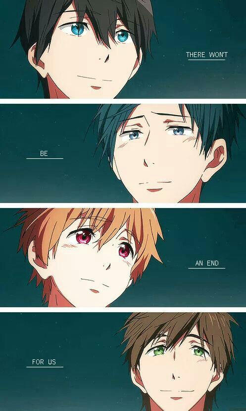 Free! - don't mind me, I'm only crying over the end of this dumb show now.<<<<Understand how you feel.
