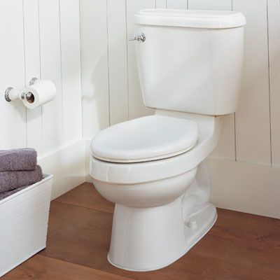 My favorite method for cleaning the toilet! Make your cleaner do the work :-)