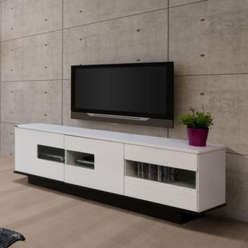 WHITE GLOSS DOOR WAVERLEY LOWLINE TV UNIT $ 329.00 Dimensions: 1600W x 400D x 525H (mm)