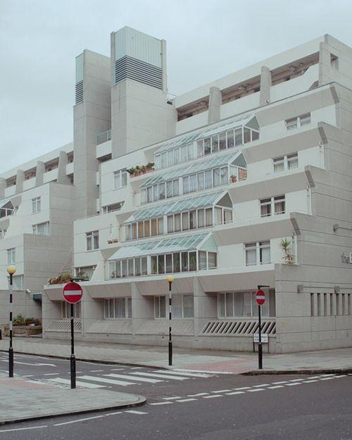 Brunswick Centre, London, Patrick Hodgkinson/Leslie Martin, 1960s