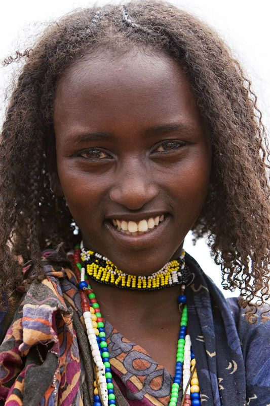 Young Woman From The Borana Tribe There Is An -6261
