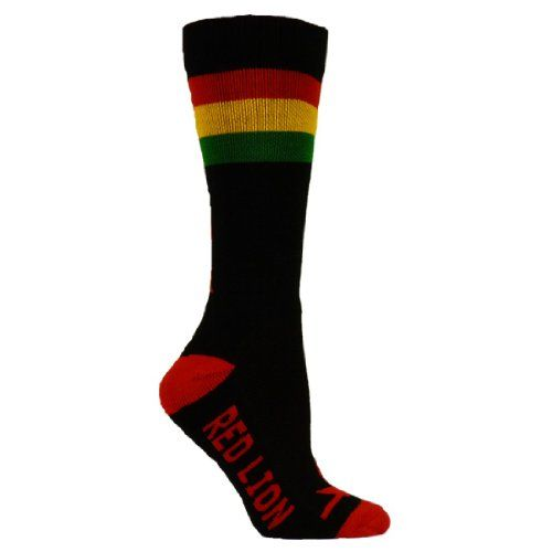 Red Lion Lax Rasta Lacrosse Knee High Sport Socks  Black  Medium  Large  * You can get additional details at the image link.Note:It is affiliate link to Amazon.