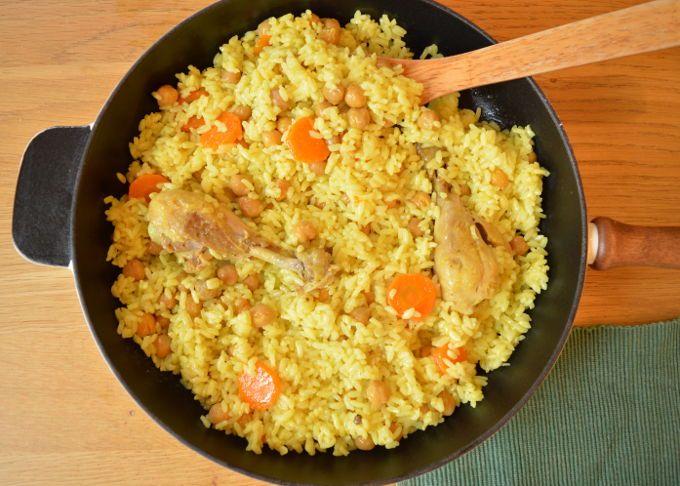 Chicken Turmeric Rice   mygutfeeling.eu
