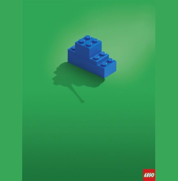 Lego ad plays on imagination