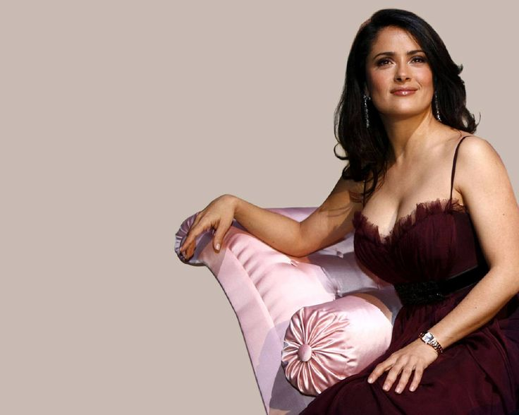 Salma Hayek Measurements Bra Size Body Weight Height Hips