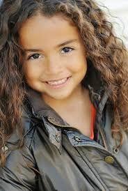 Resultado de imagen para dark curly brown haired little girl