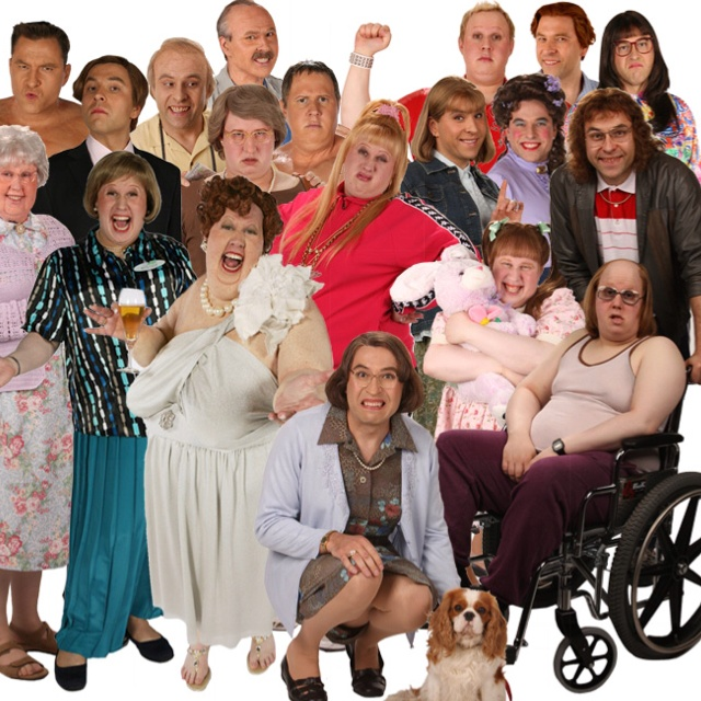 Little Britain! Miss all these people ... Computa says .. Nooooo
