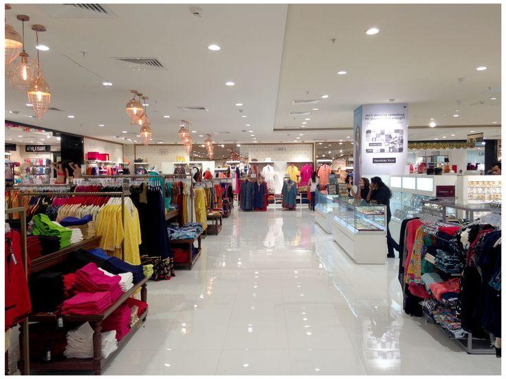Ladies Indian wear area Dept store Bengaluru