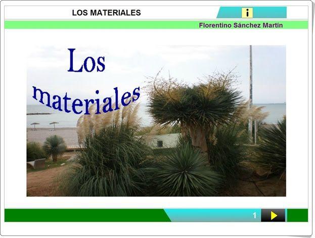 """Unidad 7 de Ciencias de la Naturaleza de 2º de Primaria: """"Materiales muy diversos"""""""