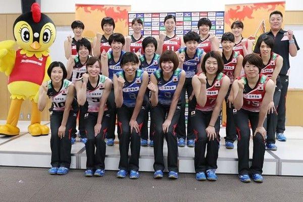14日に開幕するリオ五輪世界最終予選に向け、全日本女子メンバーが意気込みを語った【坂本清】