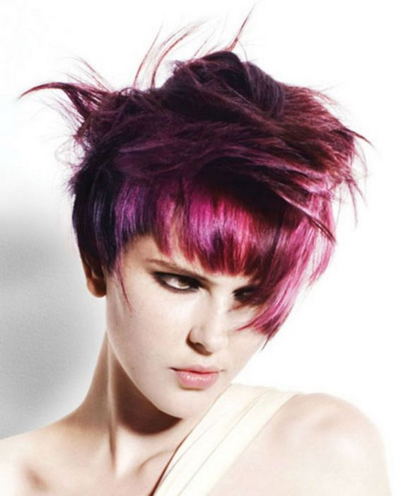 Funky Hair Color Ideas For Women