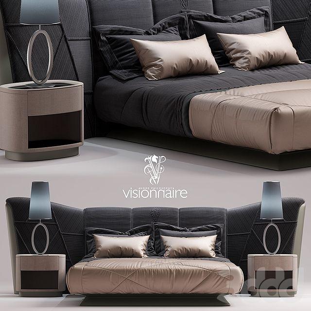 Кровать visionnaire Plaza BED