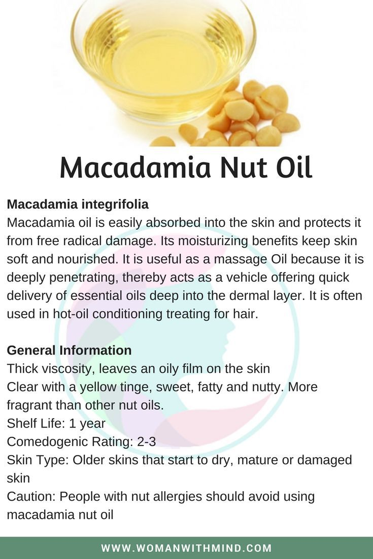 Macadamia Nut Oil Essential Oil Blends Macadamia Nut Oil Oils