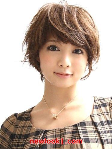 longish bangs  asian short hair cute hairstyles for