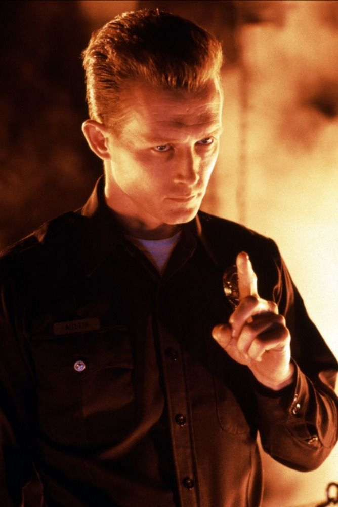 "Robert ""the T-1000"" Patrick as the villian."