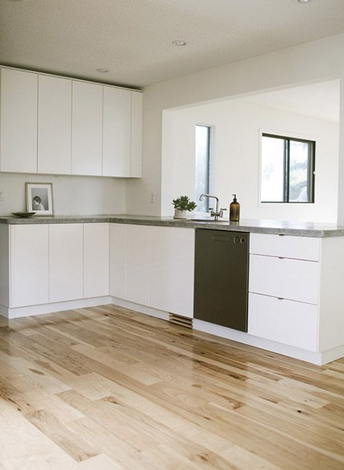 A Calgary kitchen gets the minimalist treatment   Design Sponge