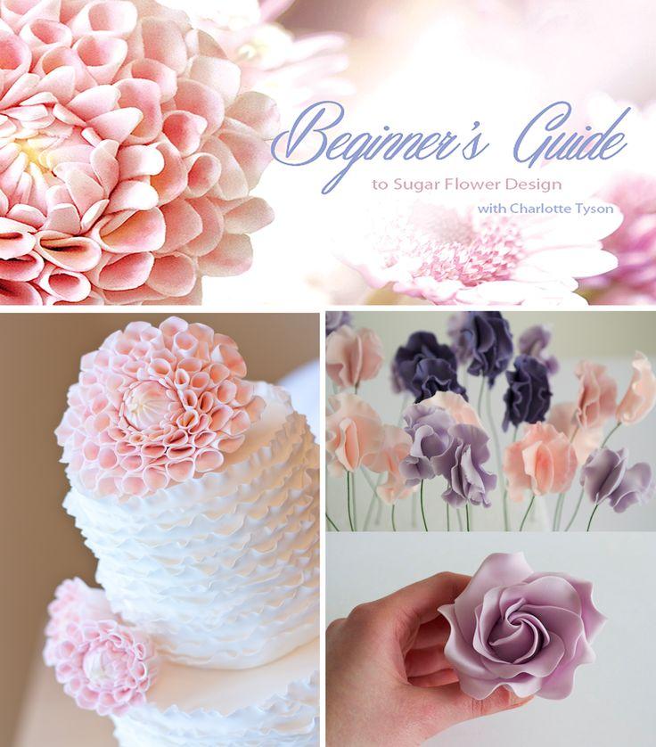 Sugar Flower Tutorials: New Cake Decorating Tutorials by Sugar Ruffles