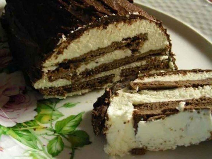 A krémes csokoládés finomság szinte elolvad a szádban és még csak sütni sem kell! Hozzávalók: 12 – 16 db csokoládéval bevont keksz 500 g tehéntúró 180 g tejföl, magas zsírtartalmú 200 g cukor vaníliás cukor (tetszés szerint) 1 teáskanál reszelt citromhéj 20 g zselatin A bevonathoz: 100 g étcsokoládé 3[...]