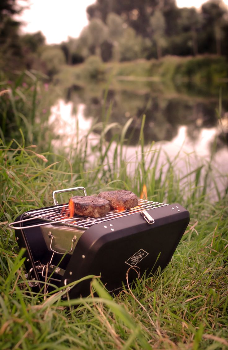 "A mini suitcase-style portable barbecue. Ideal for the beach, camping or festivals alike.  Comes emblazoned with the words ""The Adventure Begins"". Boxed in a smart kraft box with vintage design. Available from www.annabeljames.co.uk"