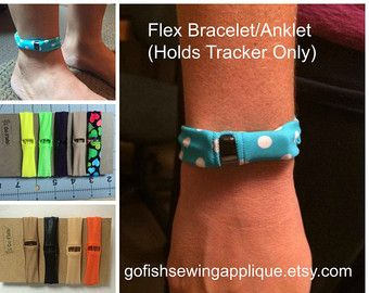 Fitbit One Bracelet or Fitbit One Anklet by GoFishSewingApplique