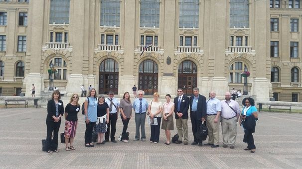 Between June 11-17, 2017 the Commission organized a U.S. Study Abroad Capacity Building tour for 12 representatives of U.S. universities.