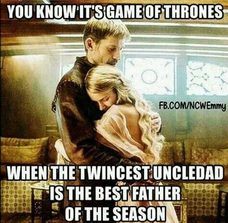 Well with men like Craster and Randal Tarly around there isn't much competition