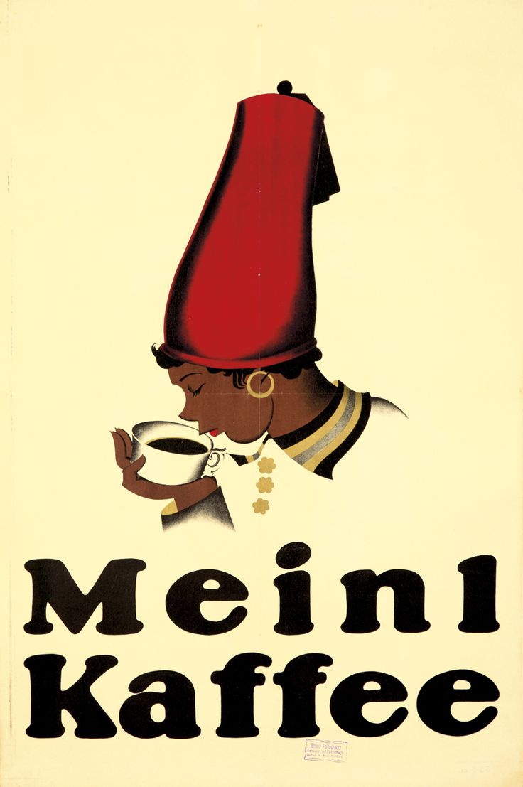 """""""Meinl Kaffee"""" by Joseph Binder, 1923. Estimate: $1,500-2,000"""