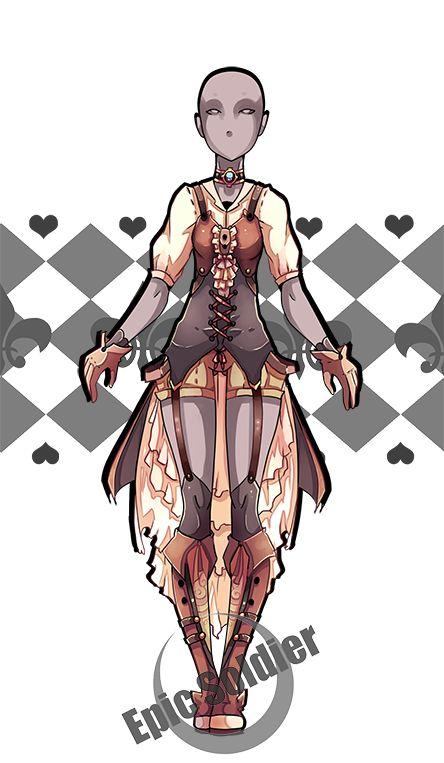 Costume adopt (CLOSED) by Epic-Soldier.deviantart.com on @DeviantArt