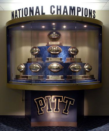 Pitt football: nine national titles
