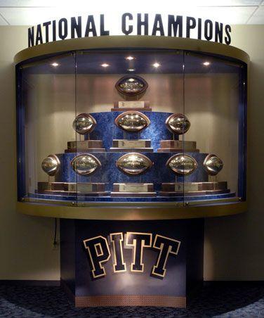 Pitt football: nine national titles