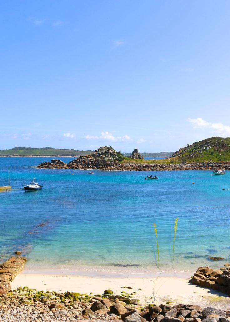 The Isles of Scilly Cornwall, England