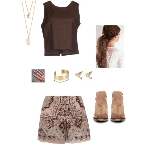 outfit III by olifantgerchia on Polyvore featuring MM6 Maison Margiela, Etro, H by Hudson, By Malene Birger, With Love From CA and M&Co