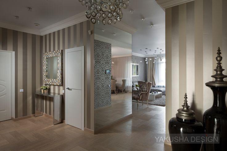 Corridor area in showroom «Bulvar Fonatov» (Boulevard of Fountain), 126 sq.m., Kiev. Created by Yakusha Design