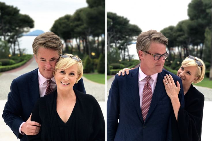 "Joe Scarborough and Mika Brezinski from the political weekly morning talk show,  Morning Joe"" are now officially engaged."
