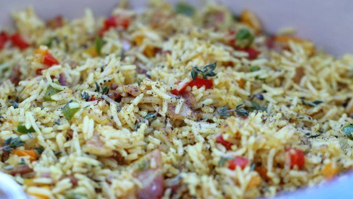 How to make the perfect 7-Colour Rice by Siba Mtongana on Food Network UK.