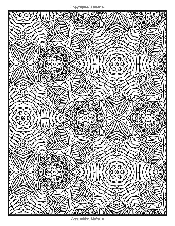 Advanced Pattern Coloring Pages : Best images about coloriages mandalas rectangles on