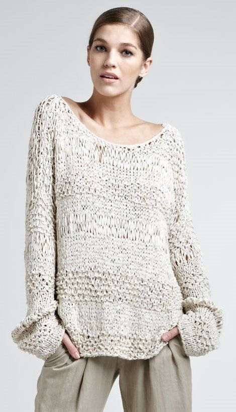 Donna Karan | Textured Top..
