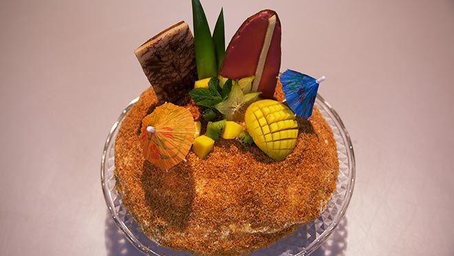 Tiki tiki Hawaii taart - recept | 24Kitchen
