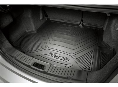 2014-2016 Ford Fiesta Cargo Area Protector 5-Door Hatchback w/ Mini Spare at Partscheap.com