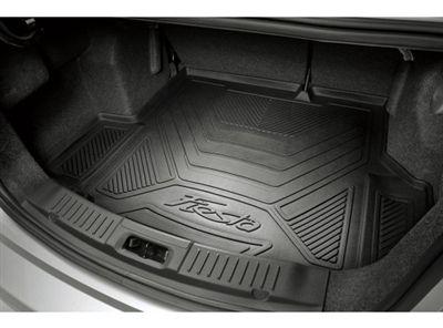 2014-2016 Ford Fiesta Cargo Area Protector 5-Door Hatchback w/ Mini Spare at Partscheap.com